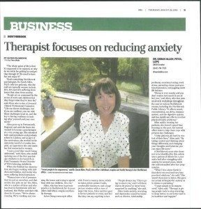 Dr. Sarah Allen Northrook Therapist Focuses On Reducing Anxiety
