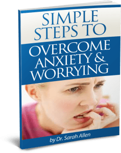 Simple Steps To Overcome Anxiety and Worrying FREE Booklet