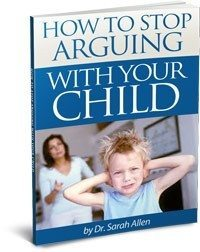 HOW TO STOP ARGUING WITH YOUR CHILD ebook