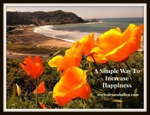A Simple Way To Improve Happiness